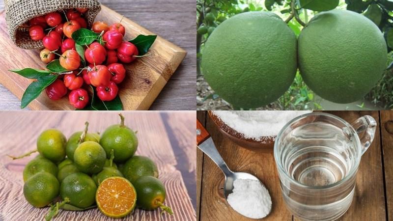 Nguyên liệu món ăn 2 cách làm nước ép sơ ri
