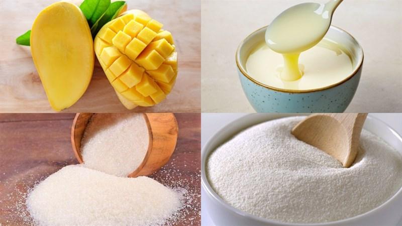 Cách làm kem xoài túi thơm ngon khó cưỡng