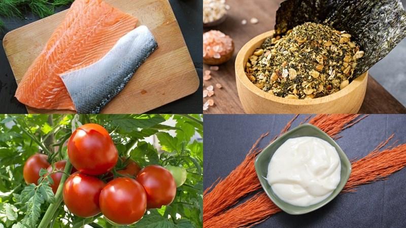 Nguyên liệu món ăn 3 cách làm cá hồi áp chảo sốt