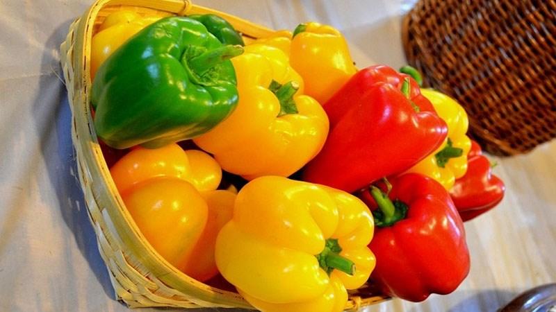 Cách bảo quản ớt chuông