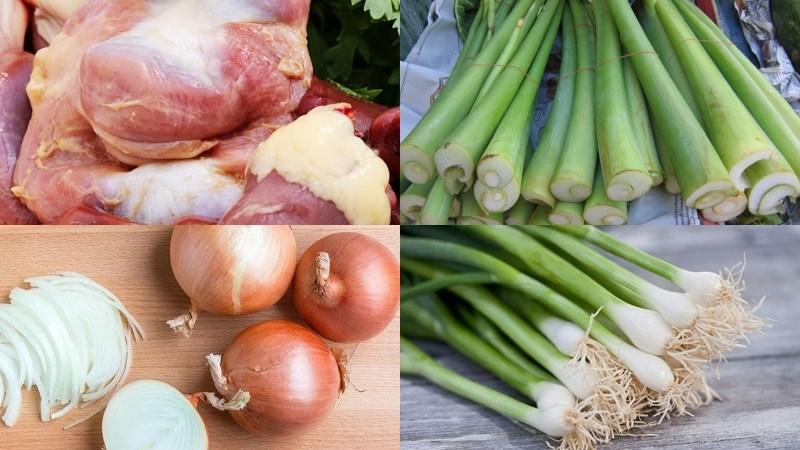 Nguyên liệu món ăn 3 cách làm dọc mùng xào