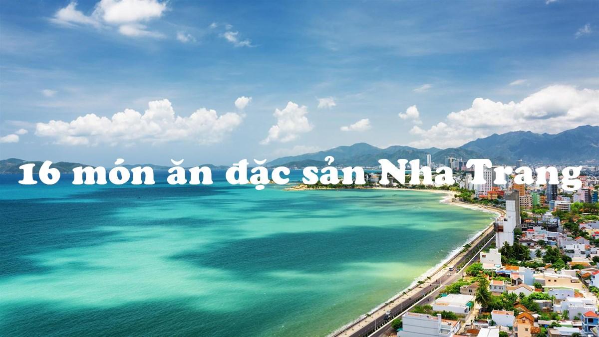 16 món ngon đặc sản Nha Trang