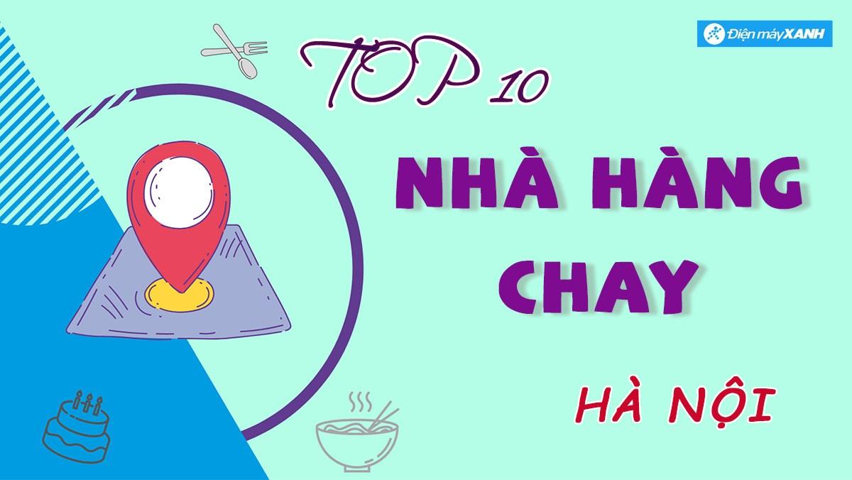 Top 10 nhà hàng chay Hà Nội