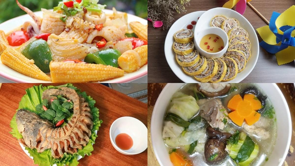 Mâm cơm ngày gia đình Việt Nam
