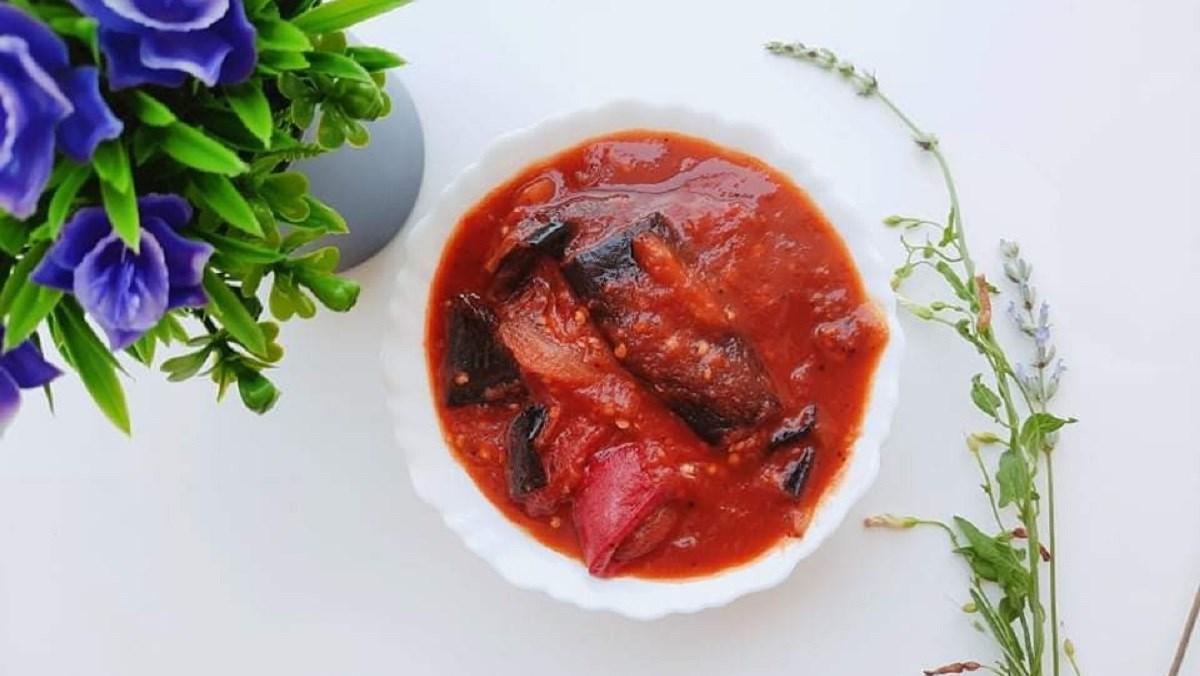 Cà tím sốt cà chua