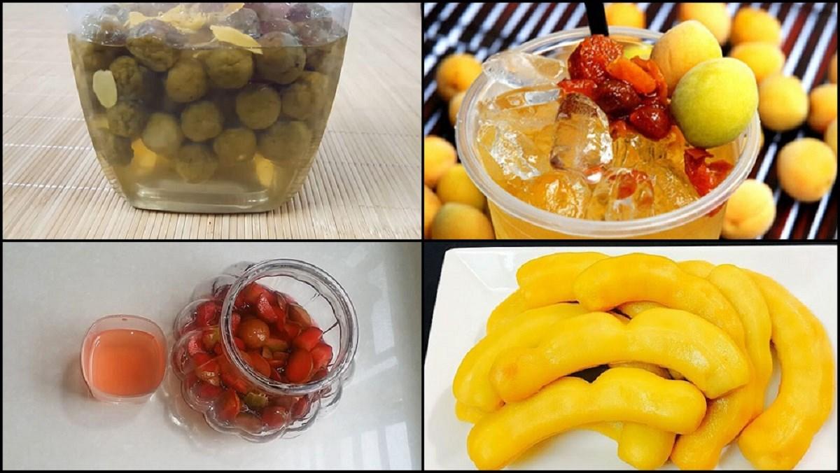 Tổng hợp 12 cách làm trái cây ngâm đường