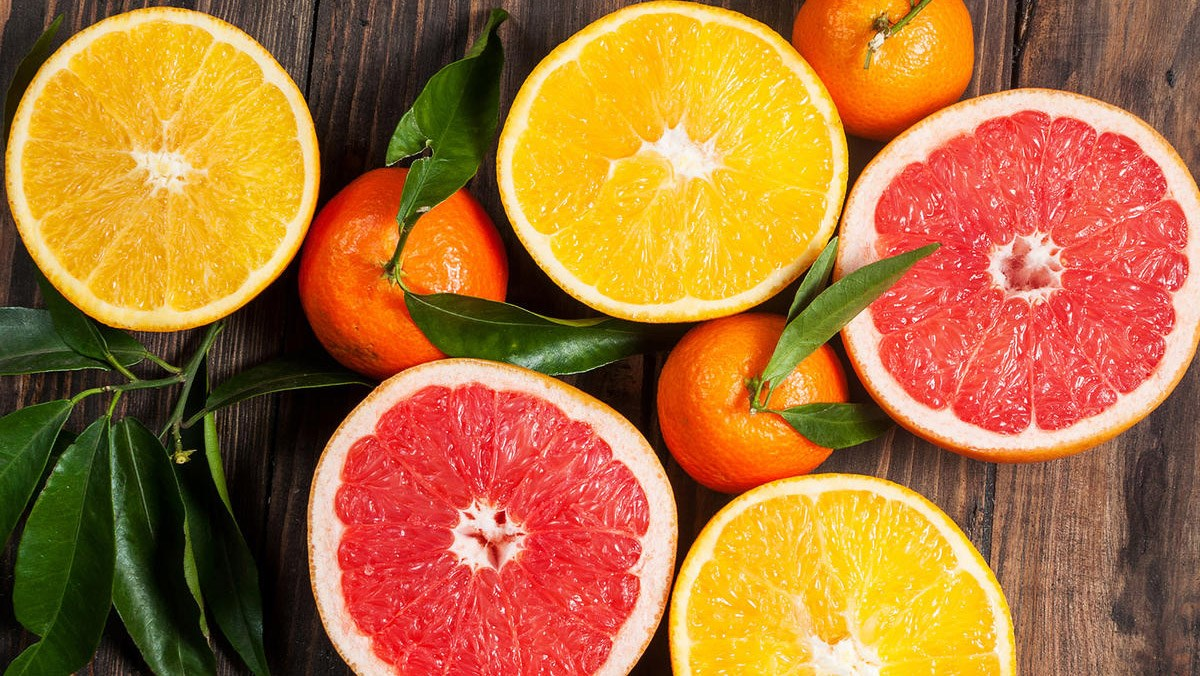 Trái cây họ cam quýt - citrus fruits là gì