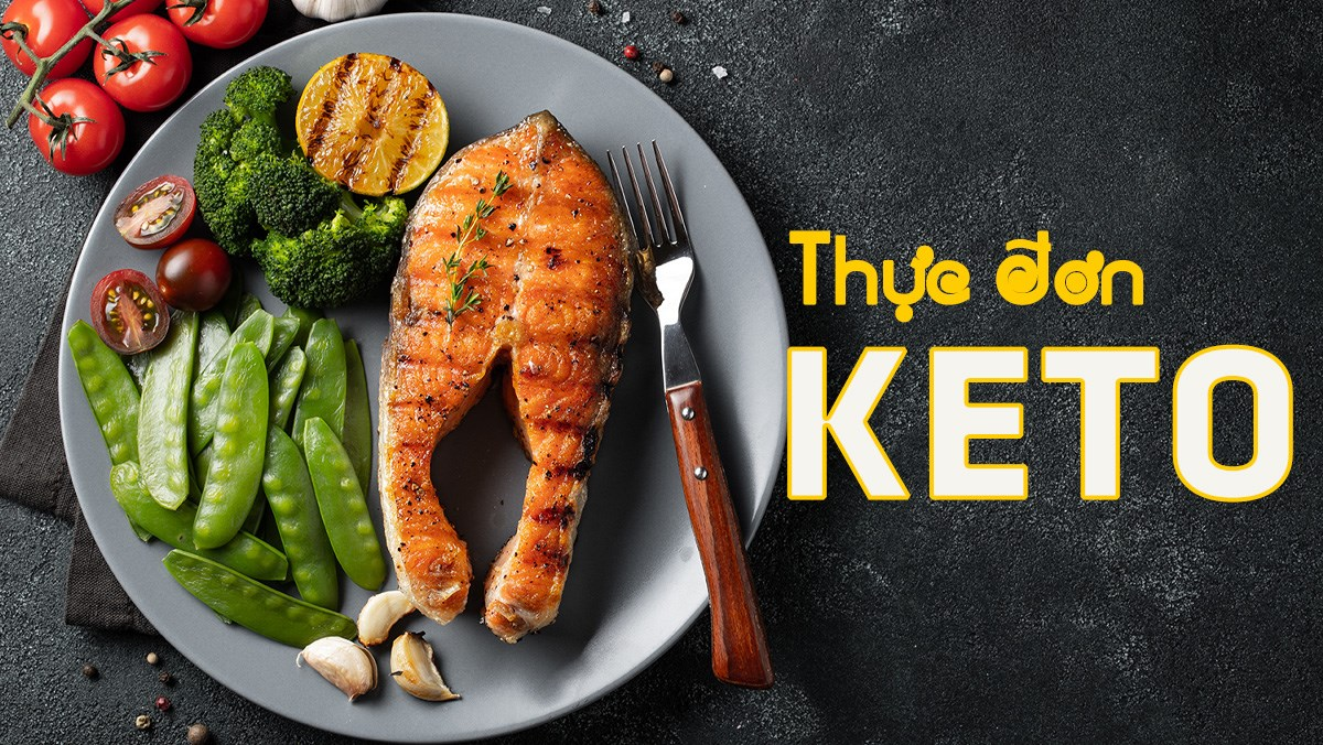 7 thực đơn keto giúp giảm cân giữ dáng