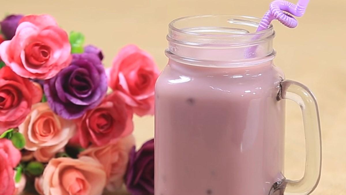 Trà sữa khoai môn
