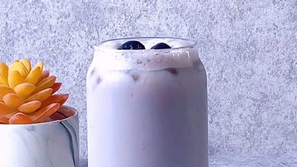 Trà sữa việt quất