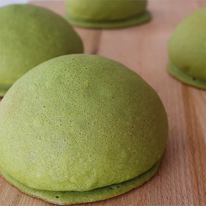 Bước 6 Thành phẩm Bánh papparoti trà xanh