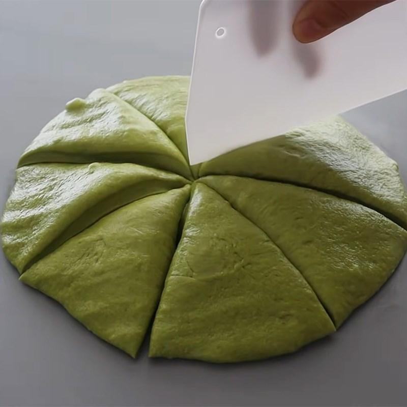 Bước 4 Chia bột và ủ lần 2 Bánh papparoti trà xanh