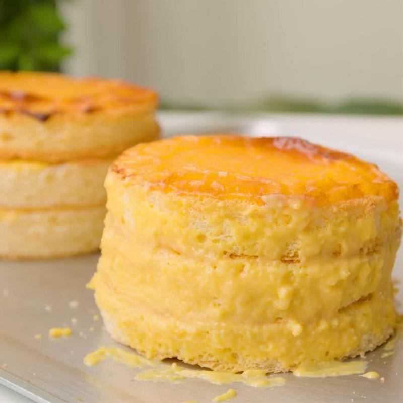 Bước 5 Ghép bánh Bánh bông lan kim sa phô mai