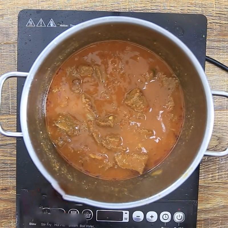 Bước 6 Hoàn thành Bò sốt cà chua hầm