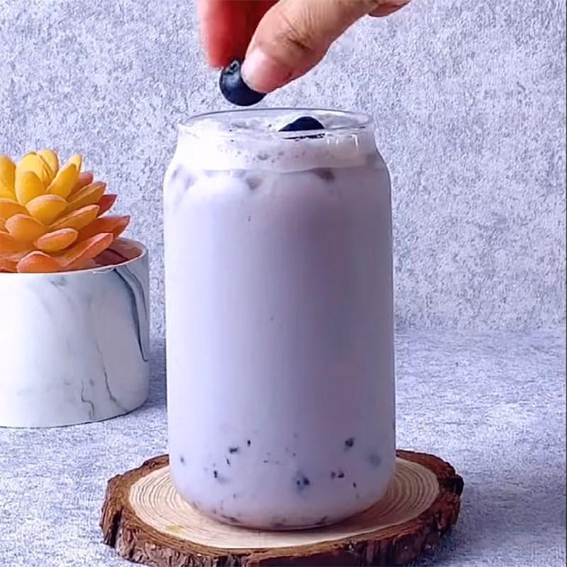 Bước 3 Hoàn thành Trà sữa việt quất