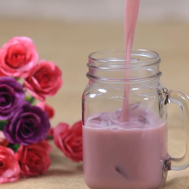 Bước 4 Hoàn thành Trà sữa khoai môn