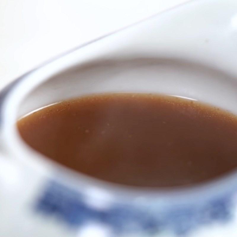 Bước 8 Nấu nước sốt graving Ba chỉ cuộn cơm ngũ vị