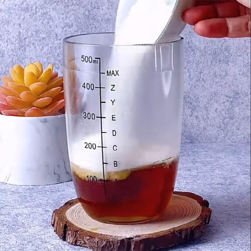 Bước 2 Pha trà sữa Trà sữa việt quất