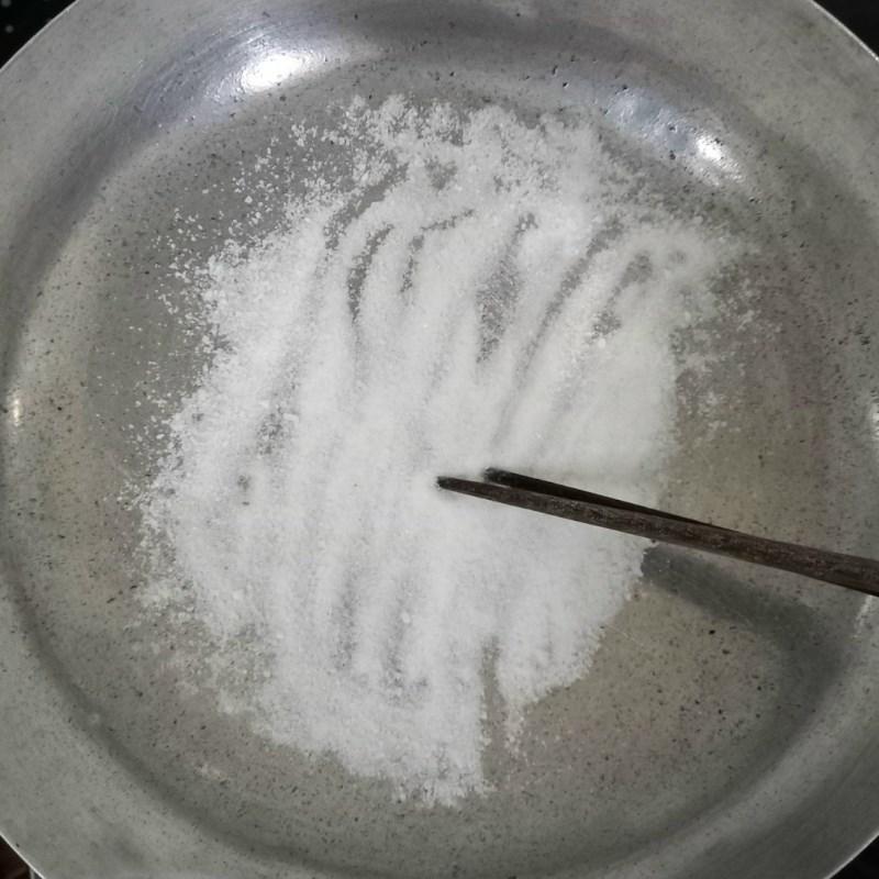 Bước 3 Rang muối tôm Càng cúm rang muối