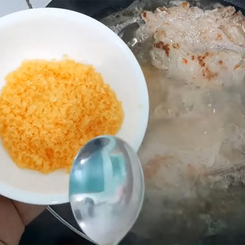 Bước 3 Rim sườn Sườn cốt lết rim sữa tươi