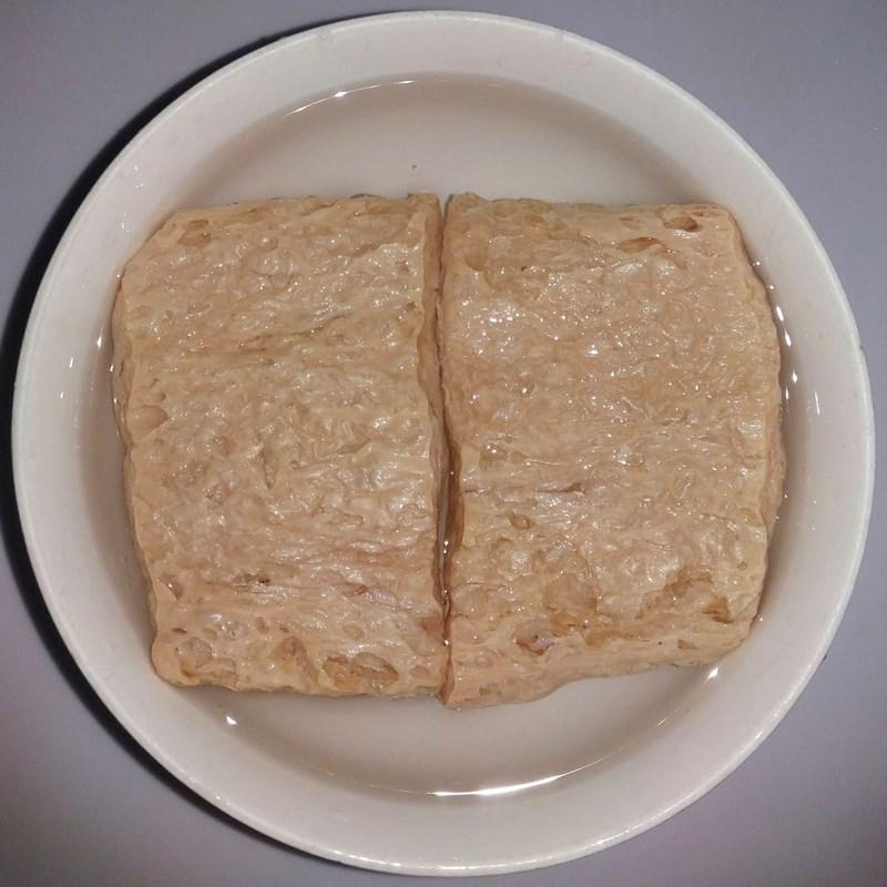 Bước 1 Sơ chế nguyên liệu Kho quẹt chay bằng sườn chay