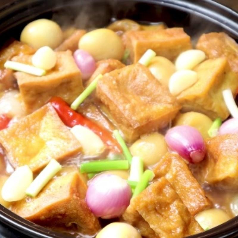 Bước 6 Thành phẩm Trứng cút kho đậu hũ