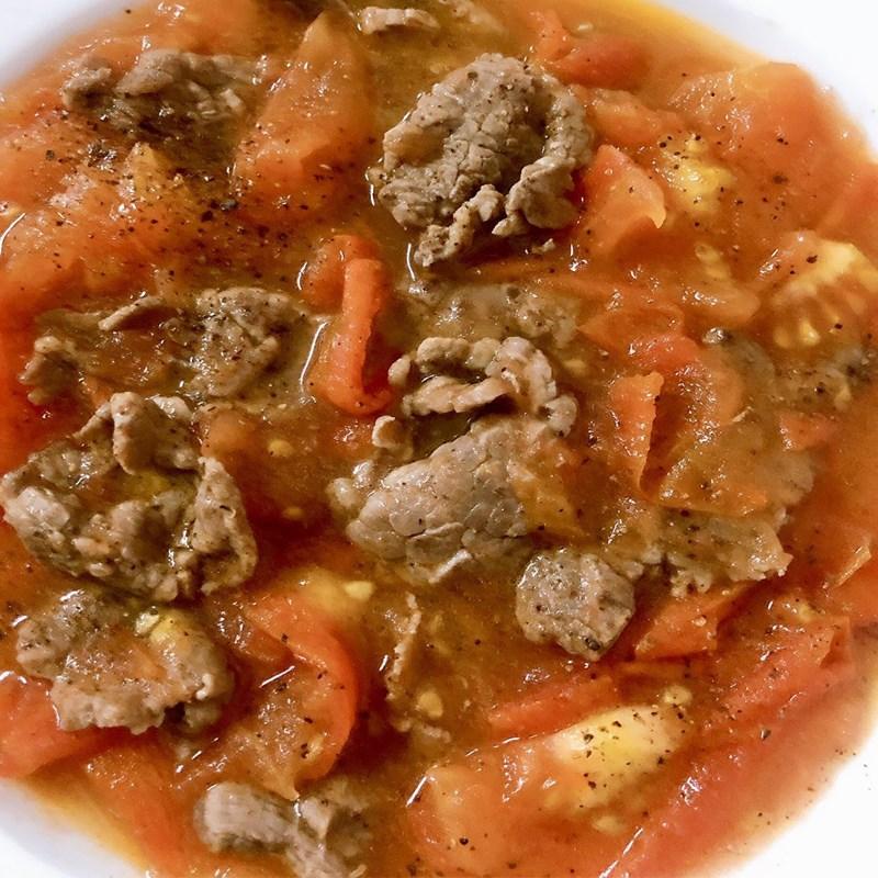Bước 3 Thành phẩm Thịt bò xào cà chua