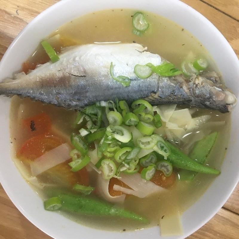 Bước 4 Thành phẩm Canh chua cá bạc má măng chua
