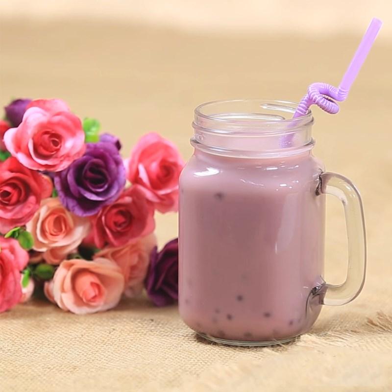 Bước 5 Thành phẩm Trà sữa khoai môn