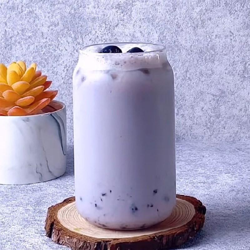 Bước 4 Thành phẩm Trà sữa việt quất