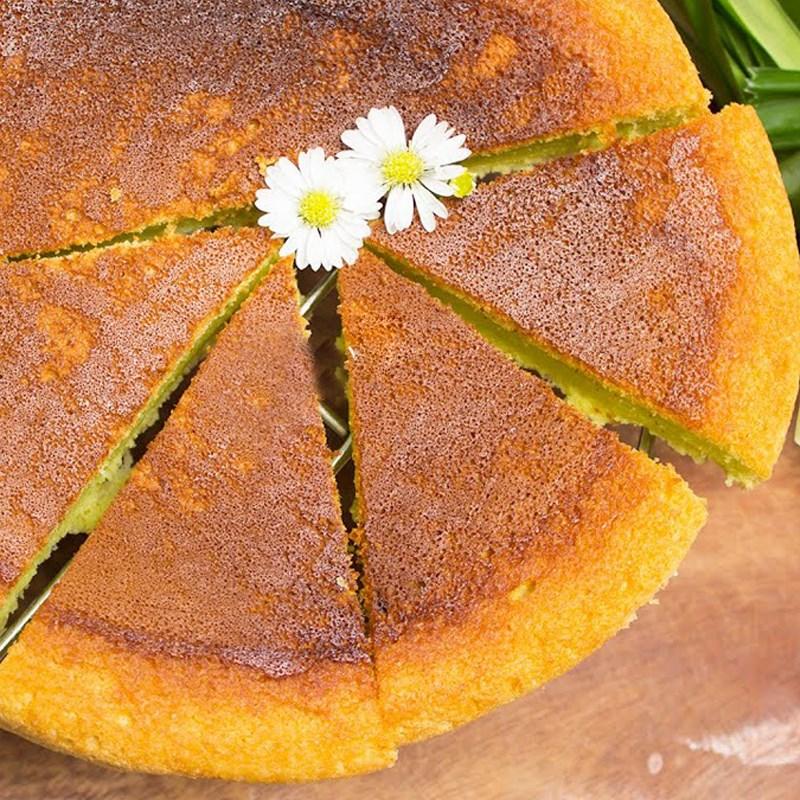 Bước 5 Thành phẩm Bánh bông lan lá dứa