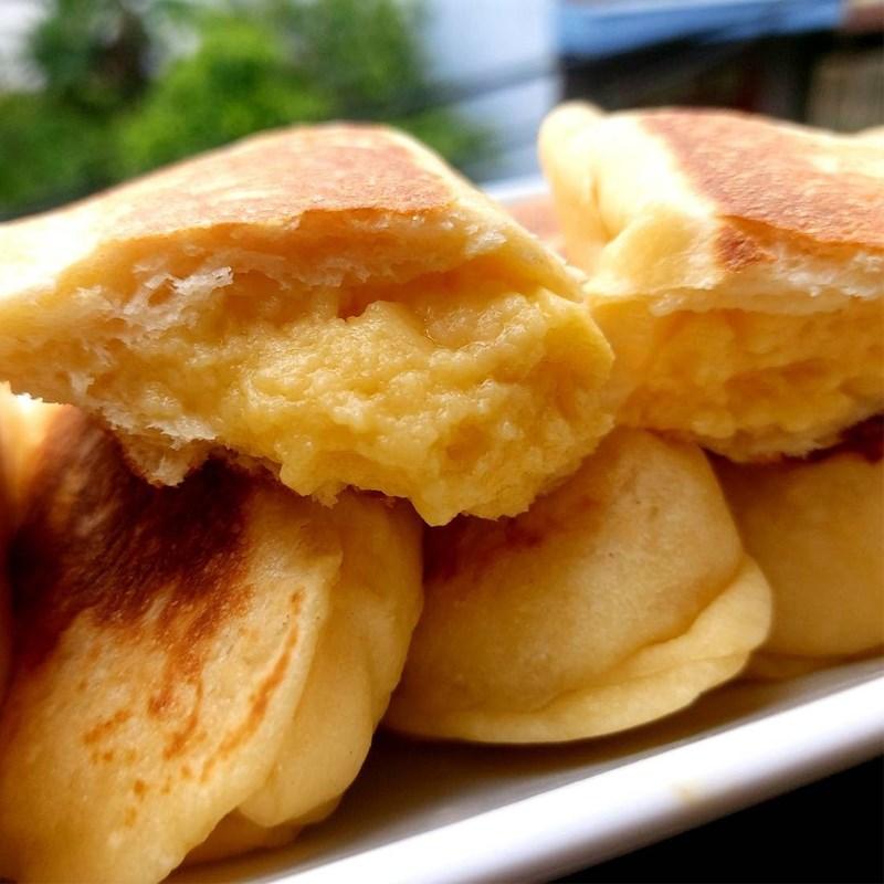 Bước 8 Thành phẩm Bánh mì nhân trứng sữa (Custard)