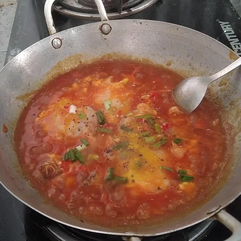 Bước 3 Thành phẩm Cá mòi kho trứng ốp la