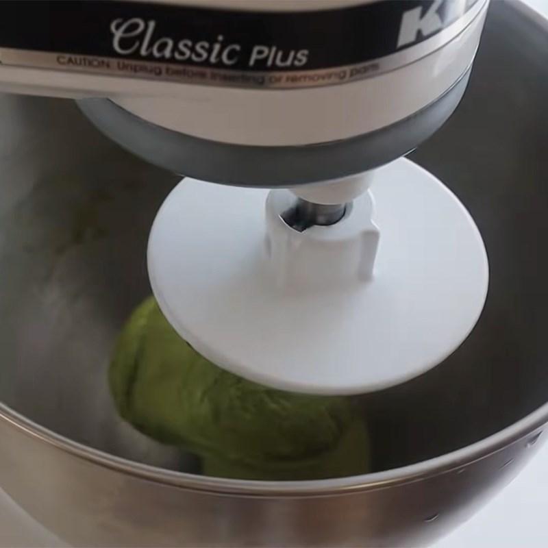 Bước 1 Trộn bột, matcha, trứng và sữa Bánh papparoti trà xanh