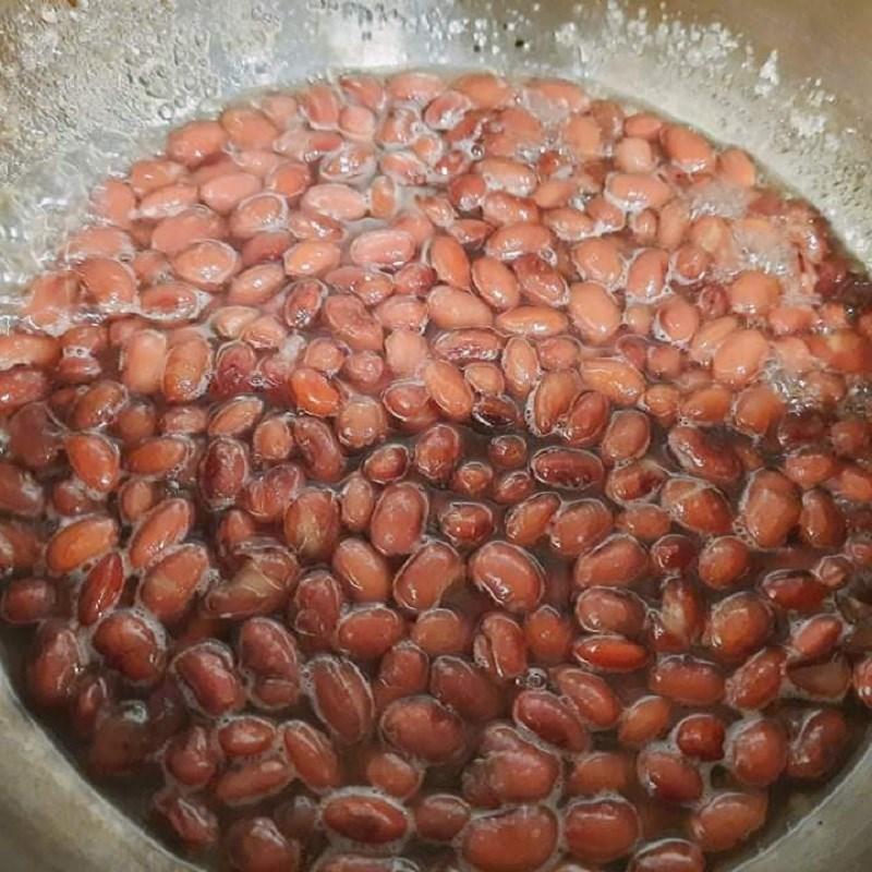 Bước 3 Ướp đậu Chè đậu đỏ bột báng nước cốt dừa bằng nồi áp suất
