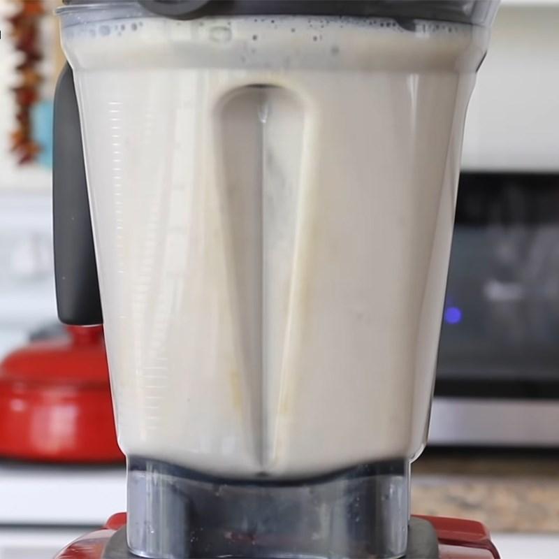 Bước 1 Xay hỗn hợp yến mạch Sữa yến mạch nguyên chất