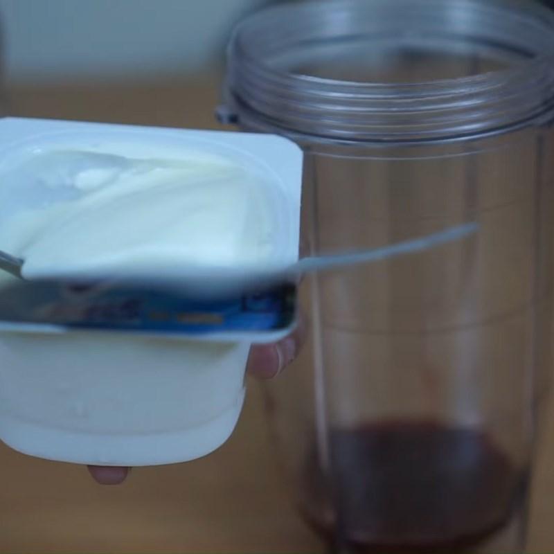 Bước 1 Xay sinh tố phúc bồn tử Soda sinh tố phúc bồn tử (quả mâm xôi)