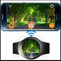 Remote Camera Pro: Điều khiển camera điện thoại từ xa bằng đồng hồ thông minh Samsung