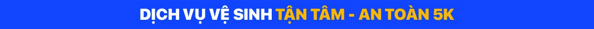 Banner promote tại trang dịch vụ vệ sinh - desktop