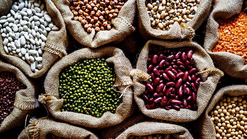 Các loại ngũ cốc và các loại đậu