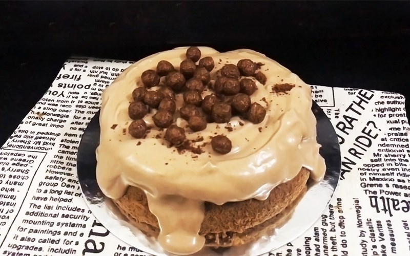 Bánh milo kem phô mai