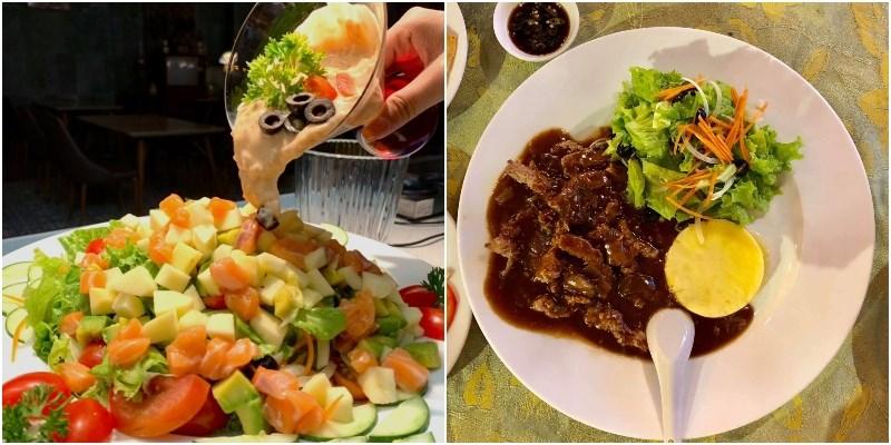 Nhà hàng Đông Dương 112 có các món ăn đặc sắc