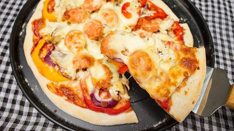 Pizza gà phô mai