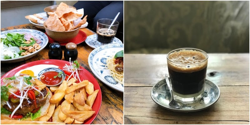 Thức ăn tại Hà Nội Social Club hướng đến sức khỏe