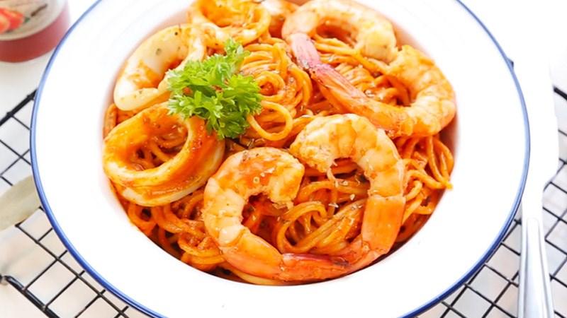 Lưu ý khi luộc mì Ý cho từng món ăn