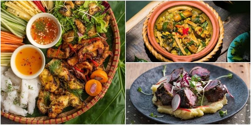 Nhà hàng Luk Lak món ăn đa dạng