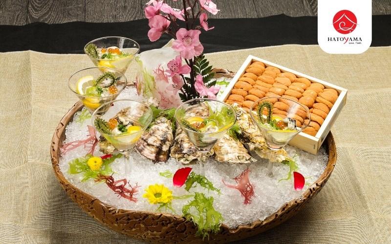 Nhà hàng Hatoyama thức ăn tươi sống đậm chất Nhật