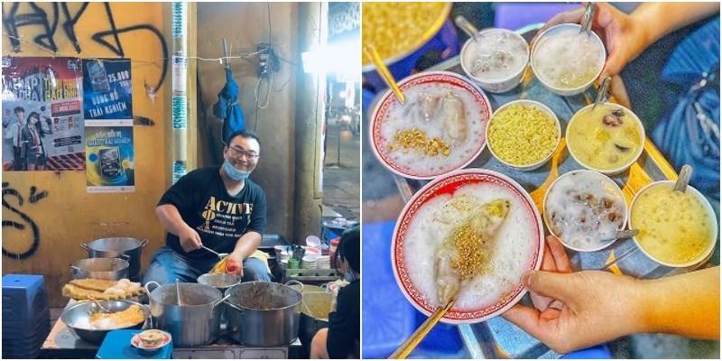 Chè vỉa hè Võ Văn Tần/chè Cô Điệp