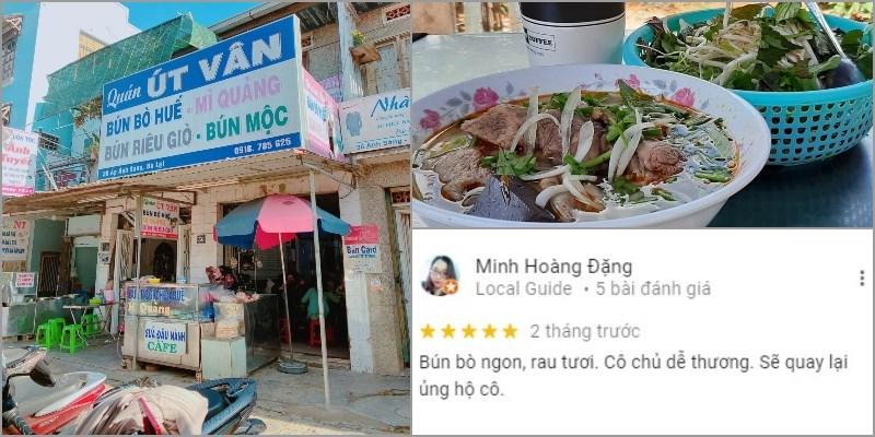Quán Bún Bò Huế - Mì Quảng Út Vân