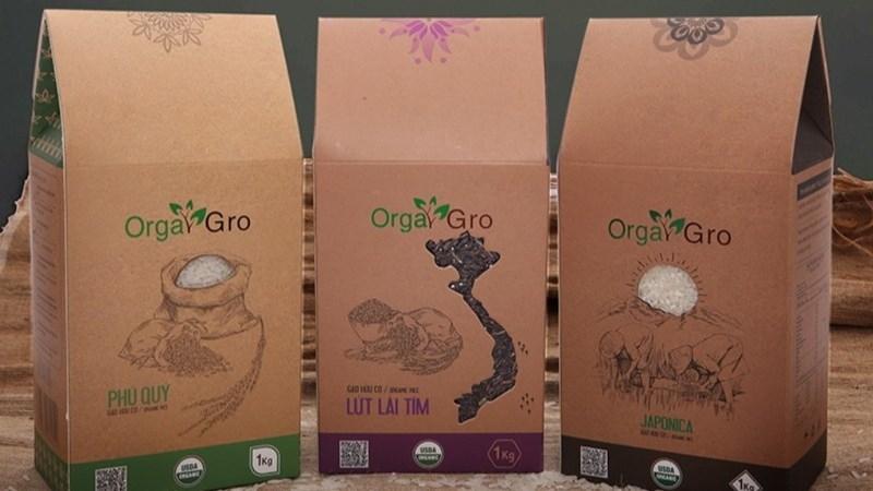 Gạo hữu cơ orgagro